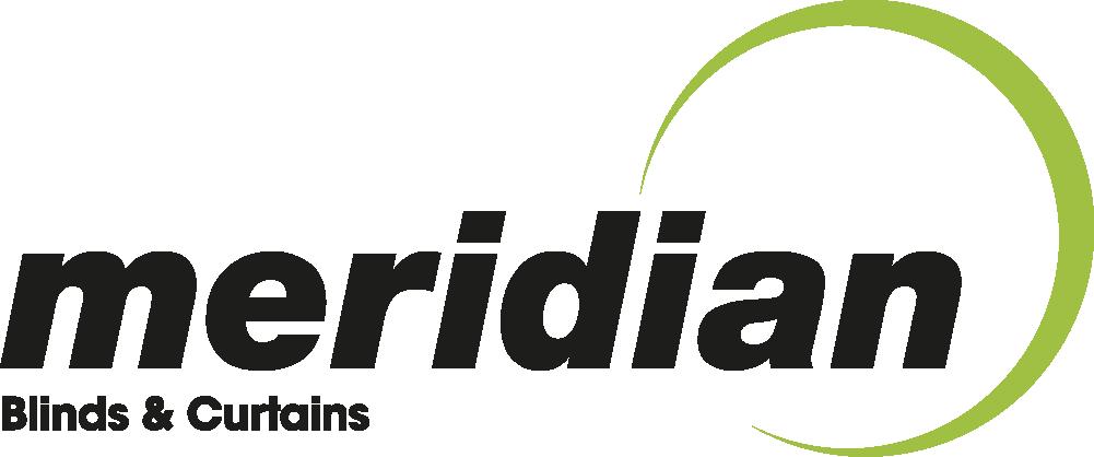 meridian blinds logo